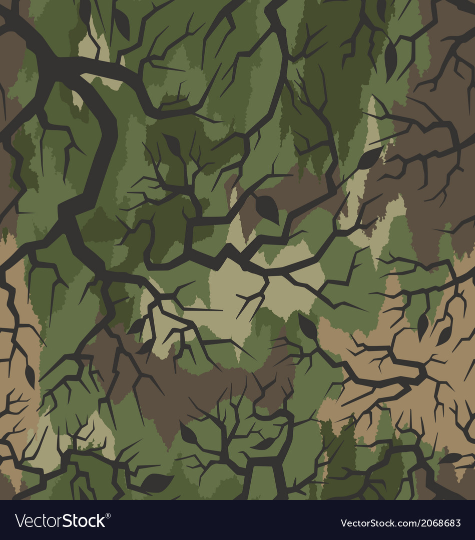 Thorn camouflage pattern seamless vector | Price: 1 Credit (USD $1)