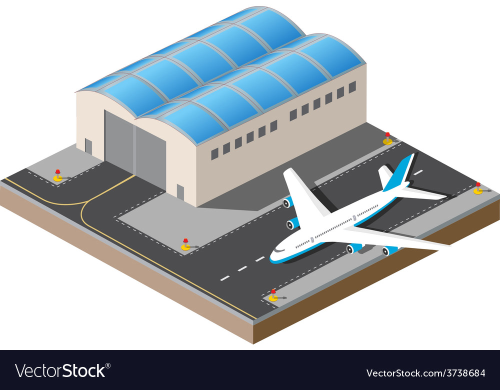 Airport vector | Price: 1 Credit (USD $1)