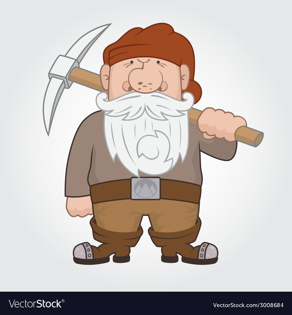 Dwarf vector | Price: 1 Credit (USD $1)