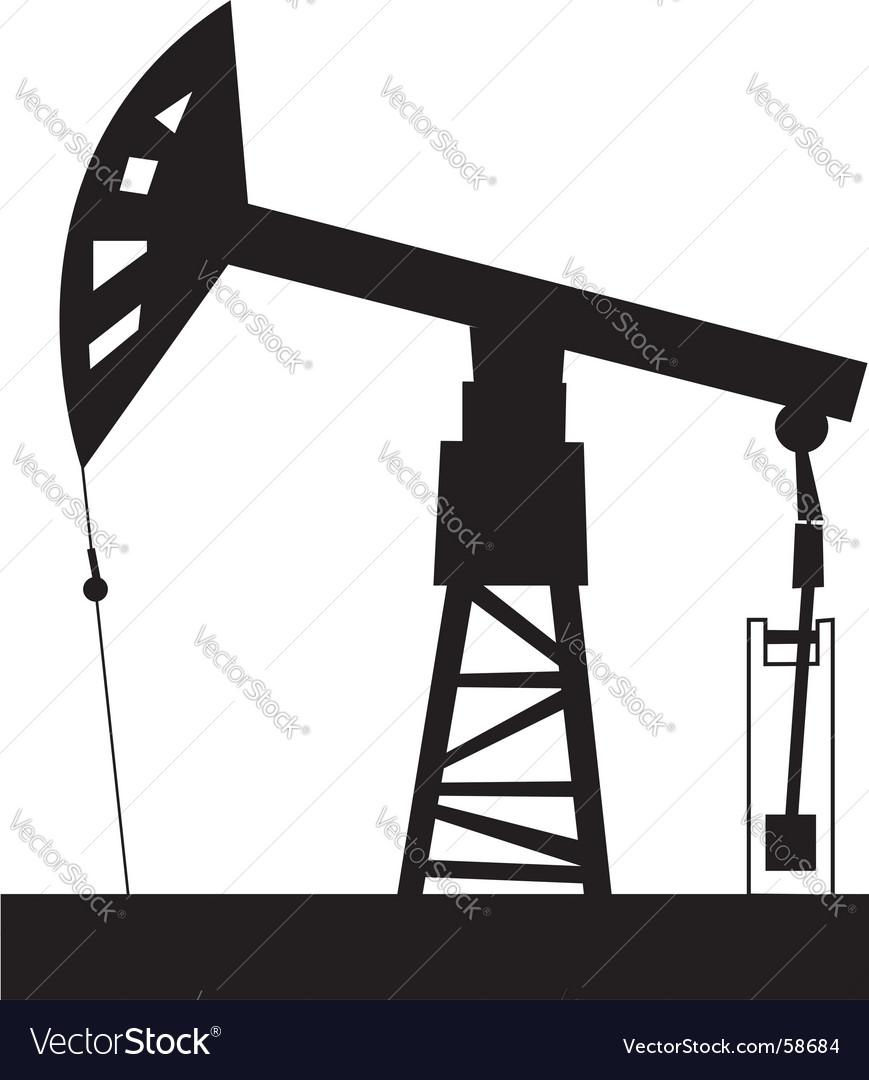 Oil rig vector | Price: 1 Credit (USD $1)