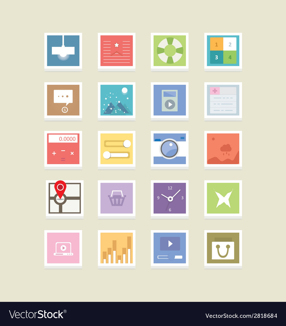 Web icons 41 vector | Price: 1 Credit (USD $1)