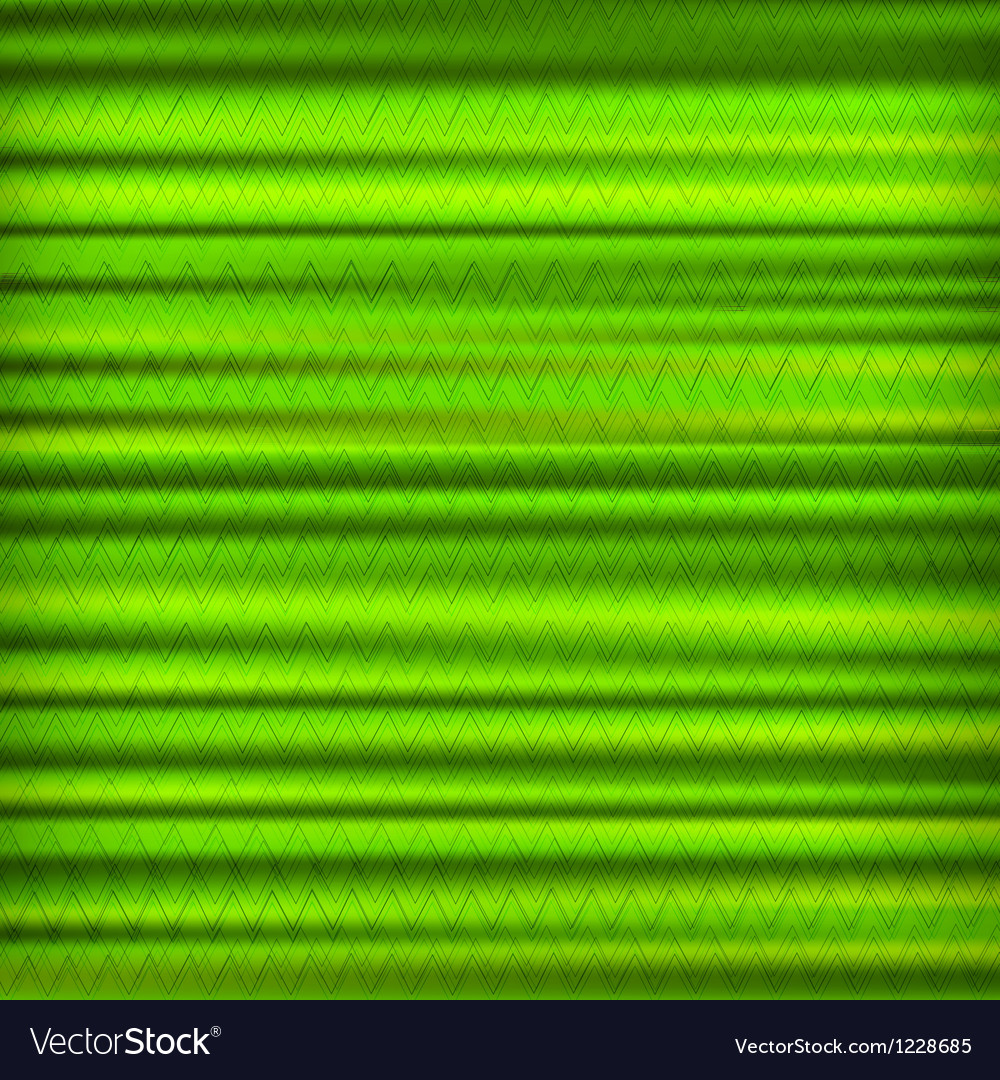 Abstract green zig zag striped background vector | Price: 1 Credit (USD $1)