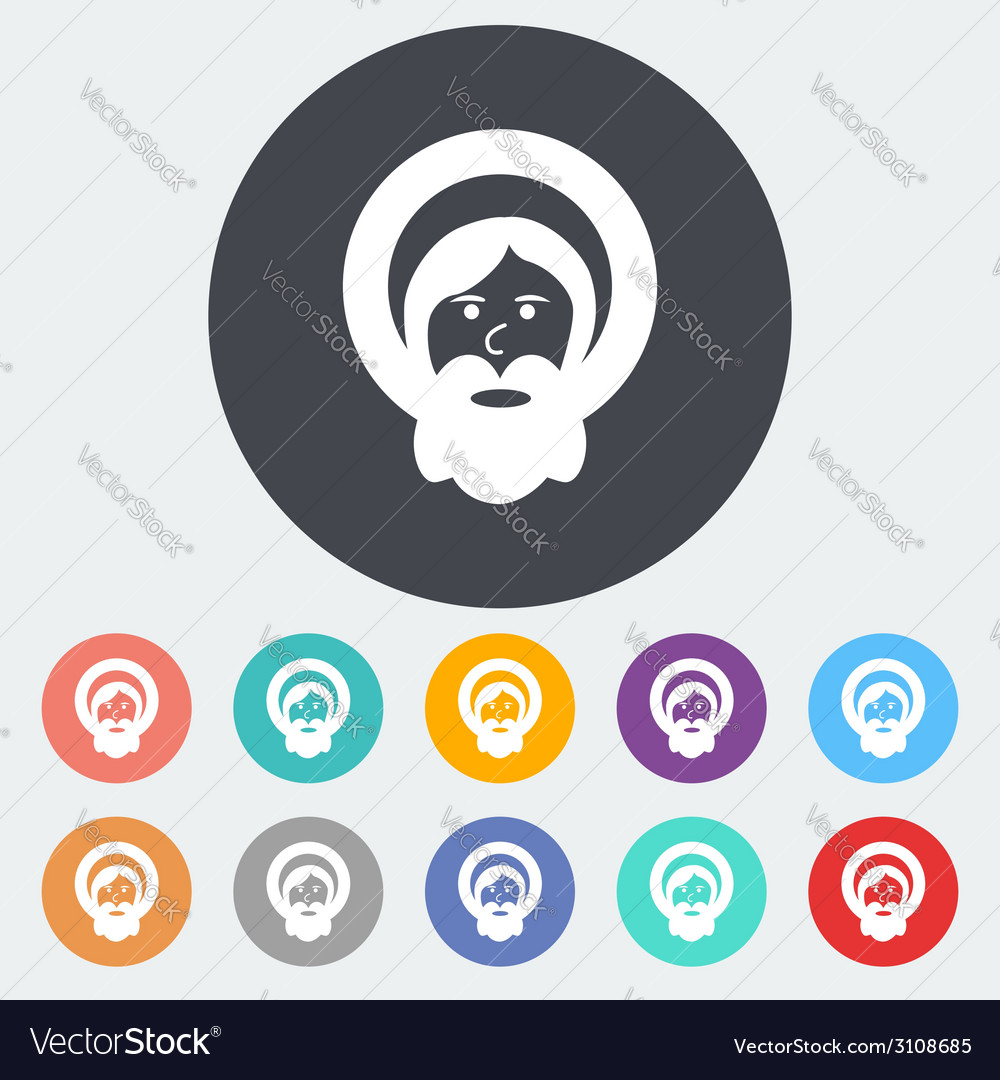 God single icon vector | Price: 1 Credit (USD $1)