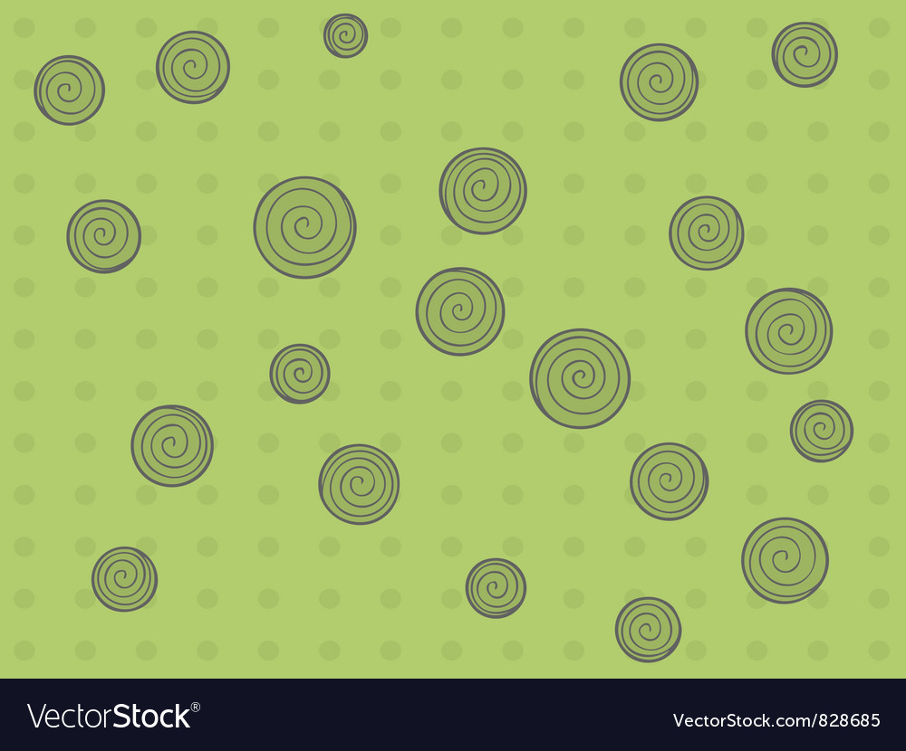 Pattern with dots and circle vector | Price: 1 Credit (USD $1)