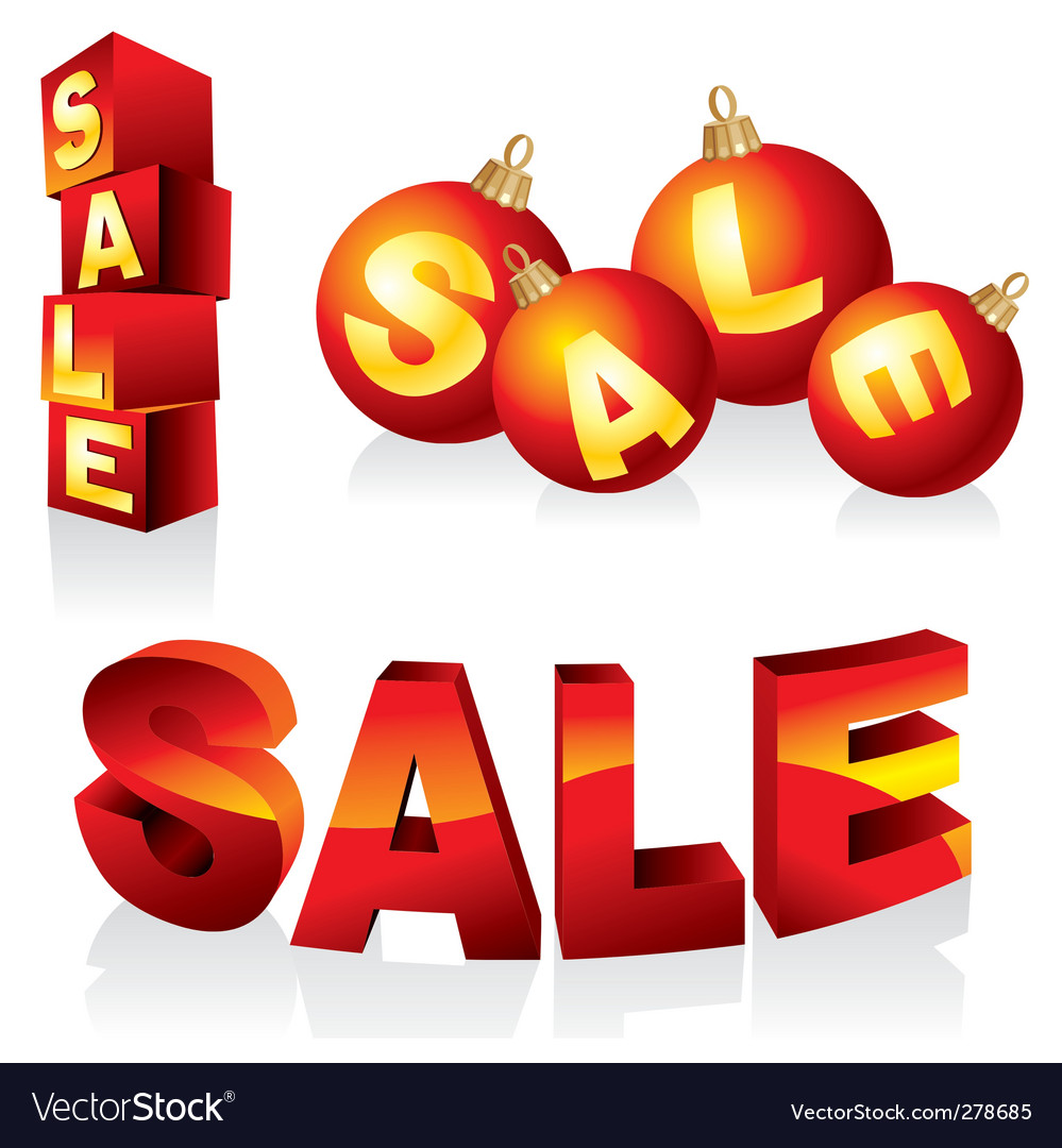 Sale design elements vector   Price: 3 Credit (USD $3)