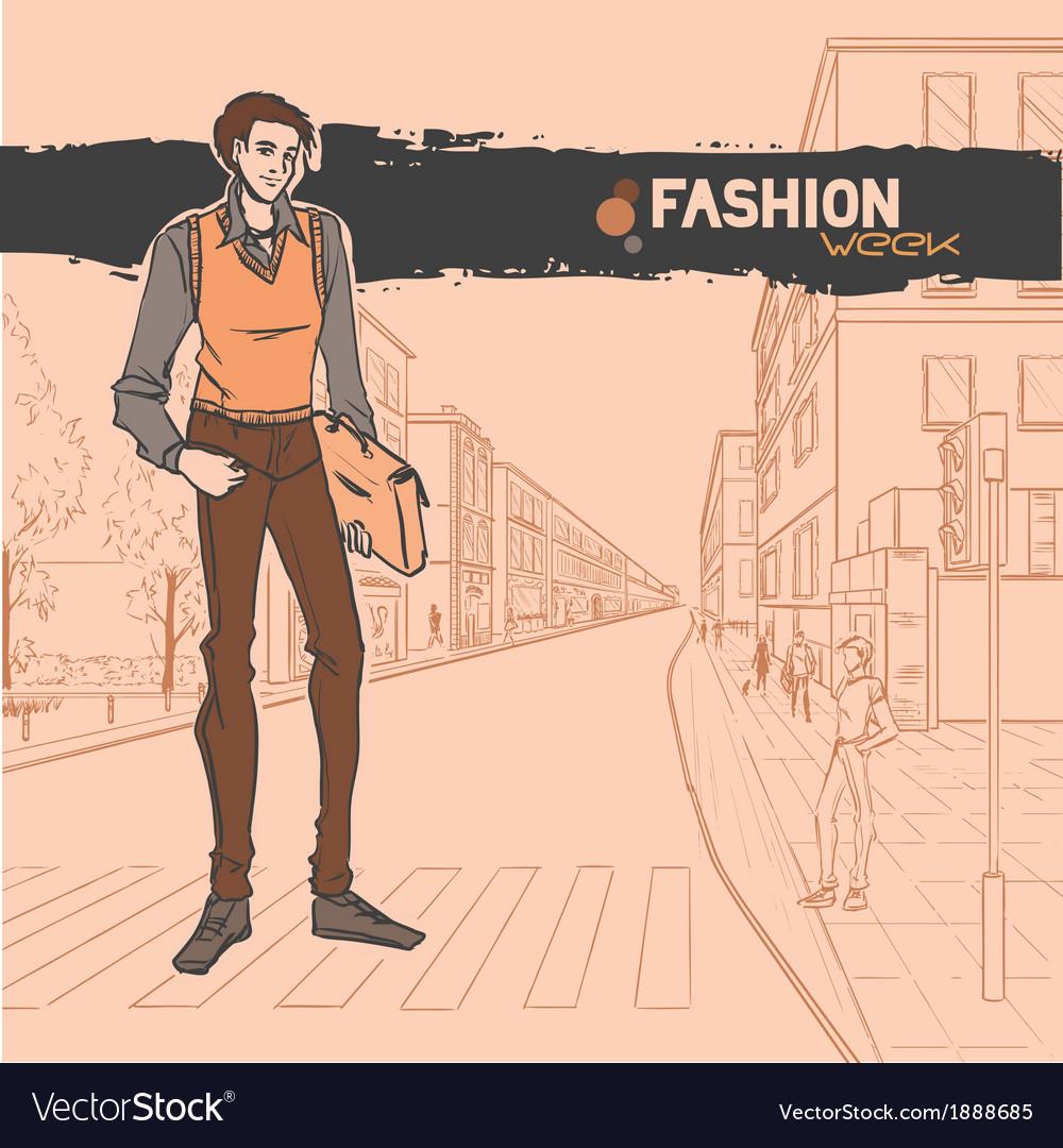 Urban fashion vector | Price: 1 Credit (USD $1)