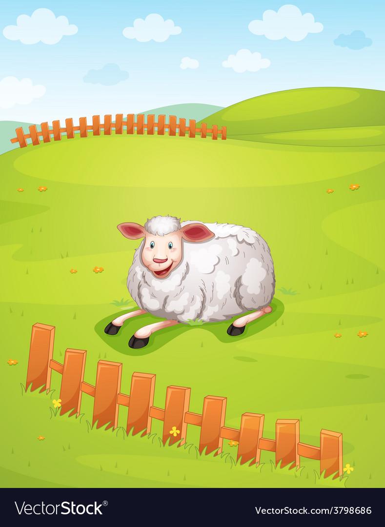 A sheep vector | Price: 1 Credit (USD $1)