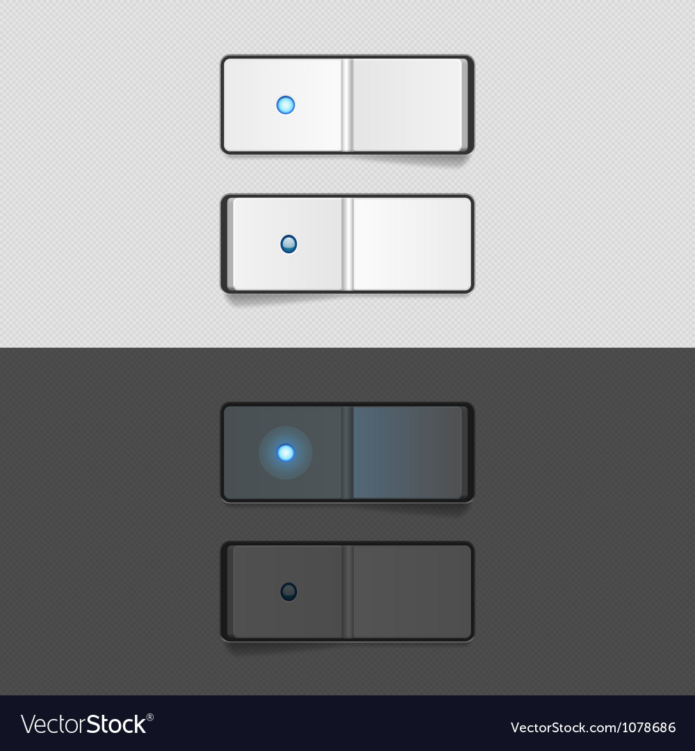 On off switch vector | Price: 1 Credit (USD $1)
