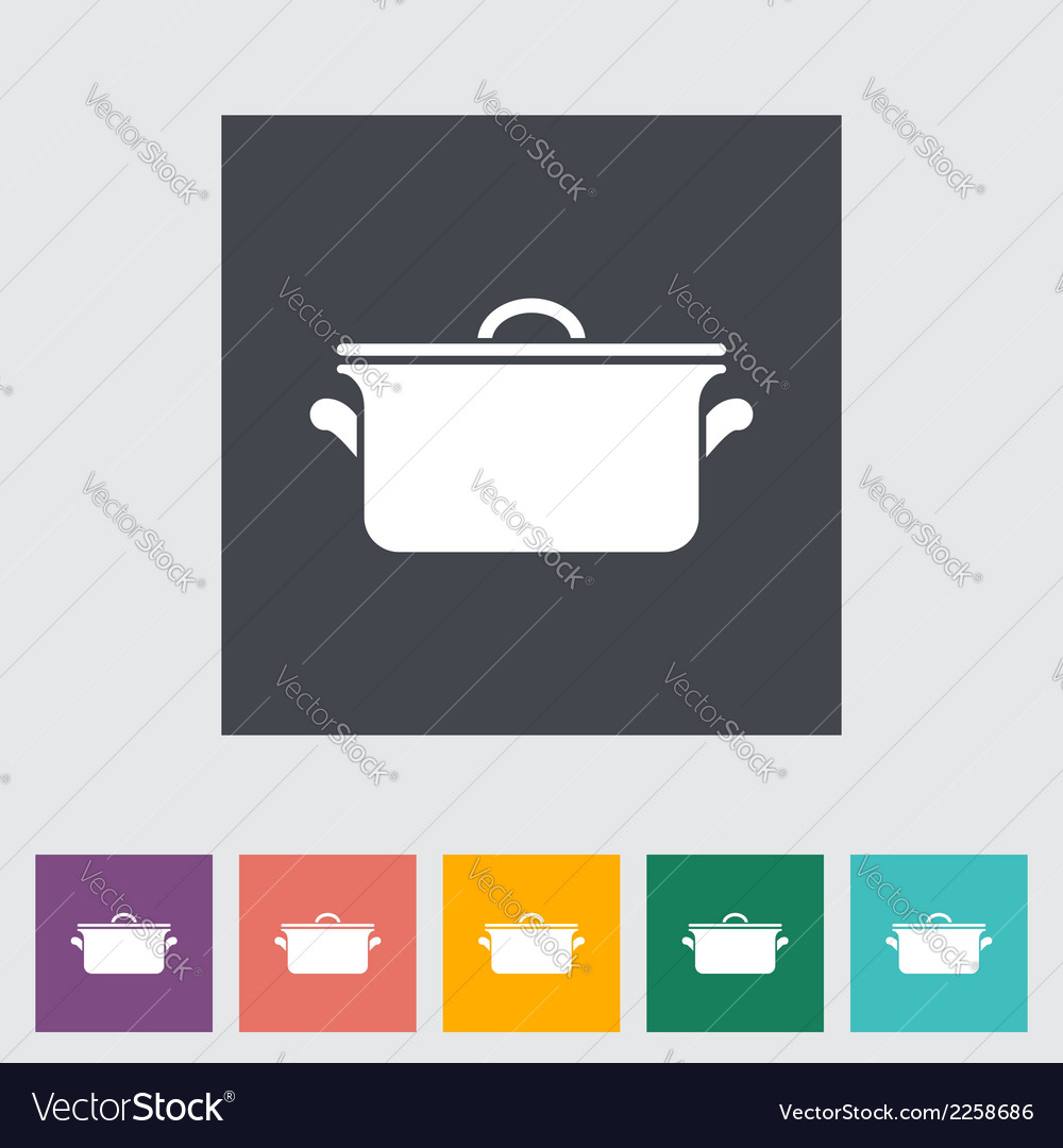 Pan icon vector | Price: 1 Credit (USD $1)
