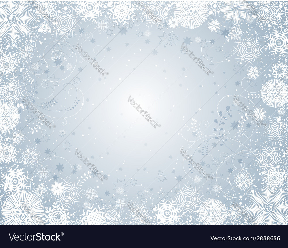Silver christmas background vector | Price: 1 Credit (USD $1)