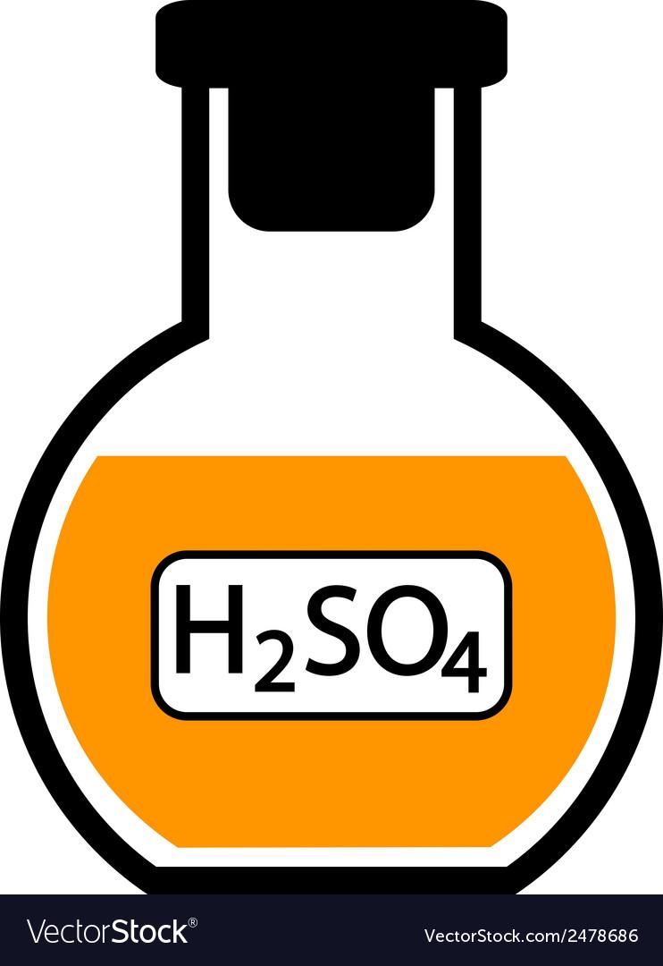 Sulfuric acid vector | Price: 1 Credit (USD $1)