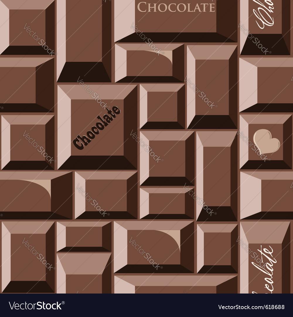 Chocolate seamless pattern vector | Price: 1 Credit (USD $1)