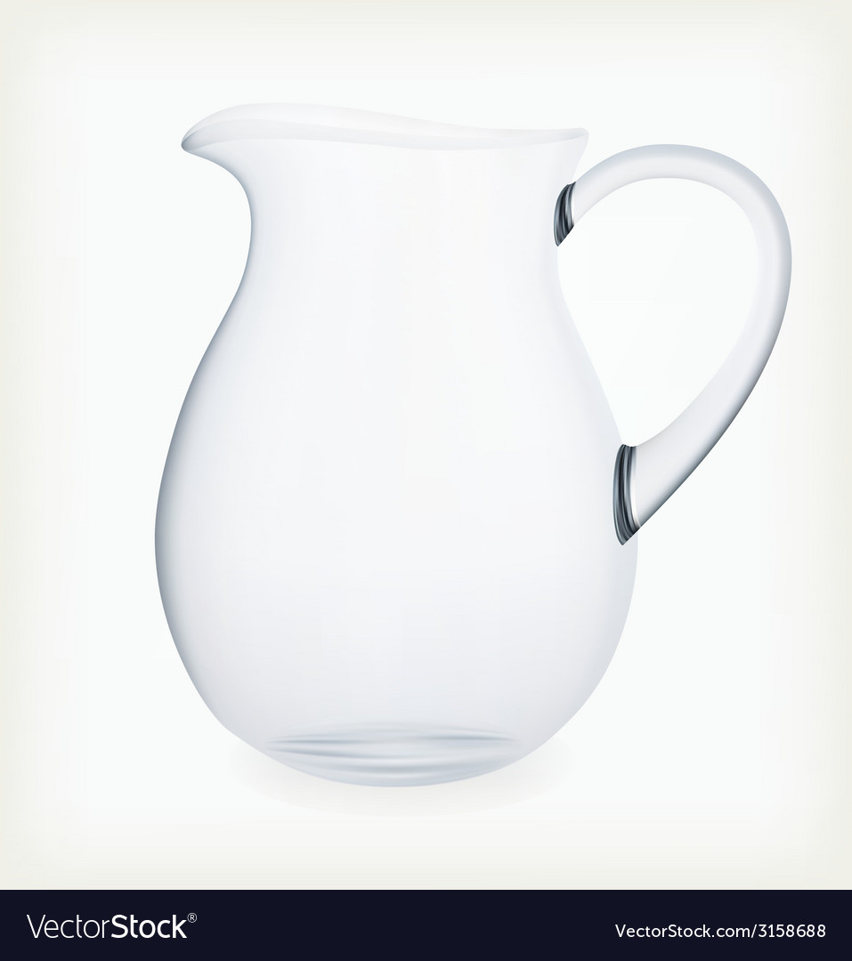 Glass jug vector | Price: 1 Credit (USD $1)