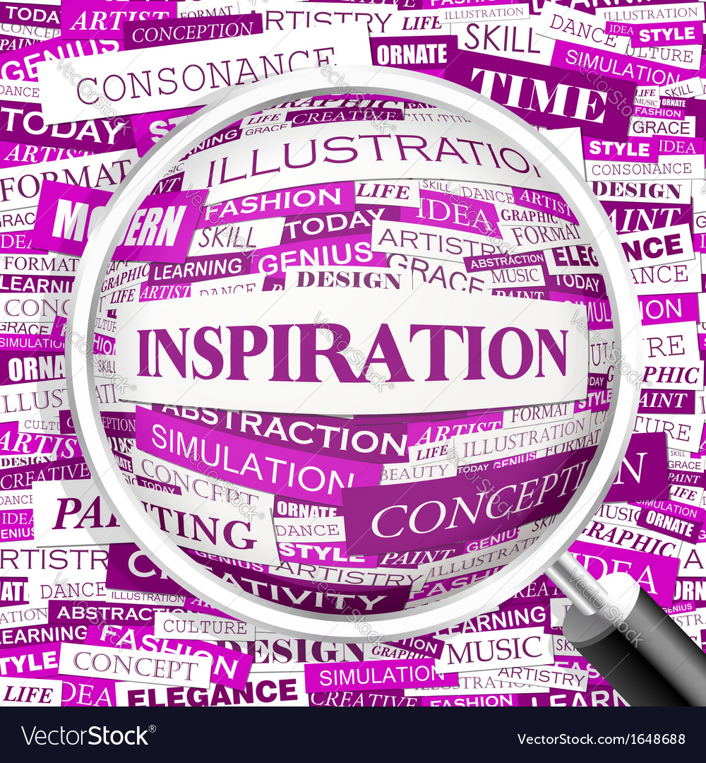Inspiration vector | Price: 1 Credit (USD $1)