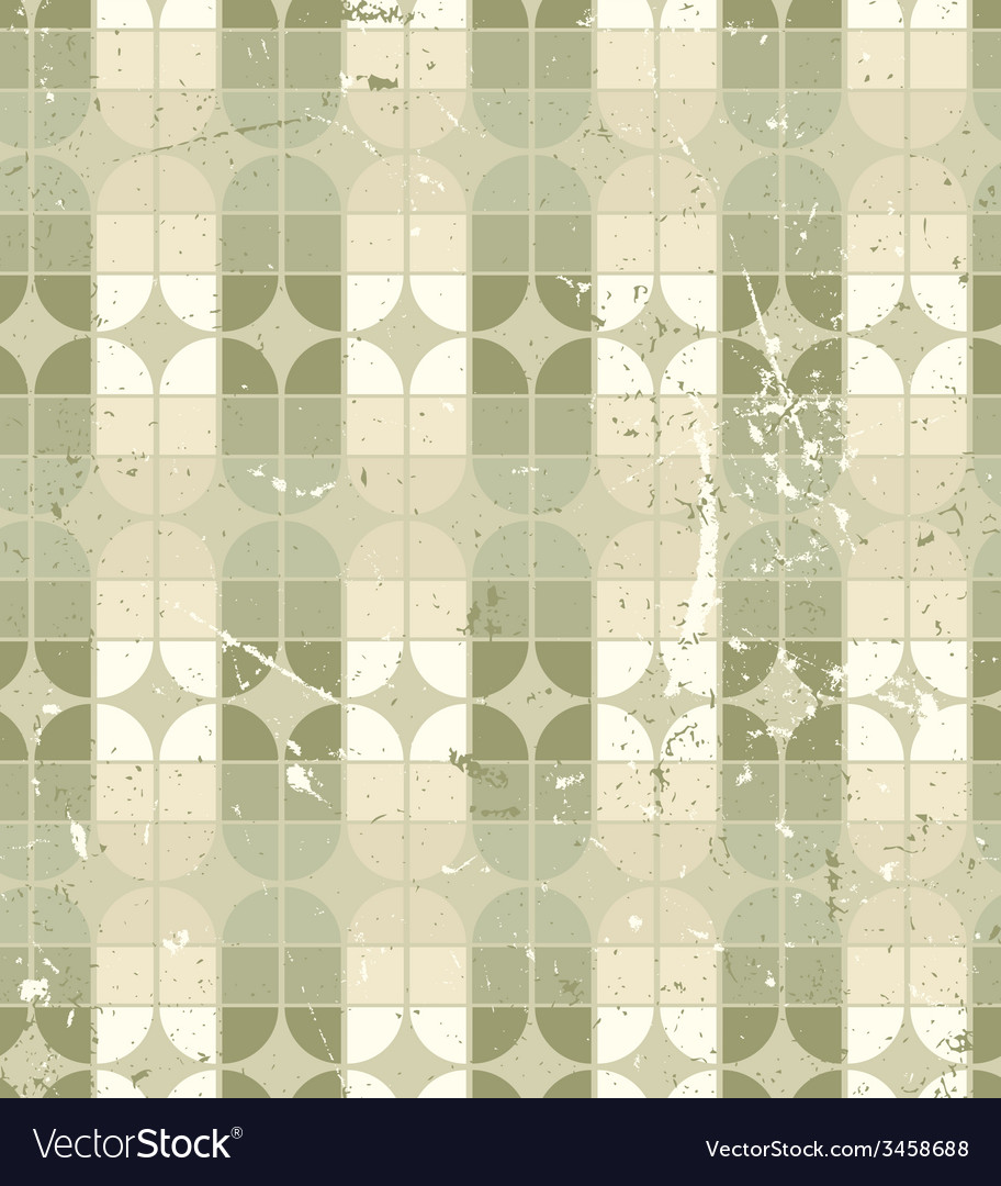 Vintage neutral geometric seamless pattern stained vector | Price: 1 Credit (USD $1)