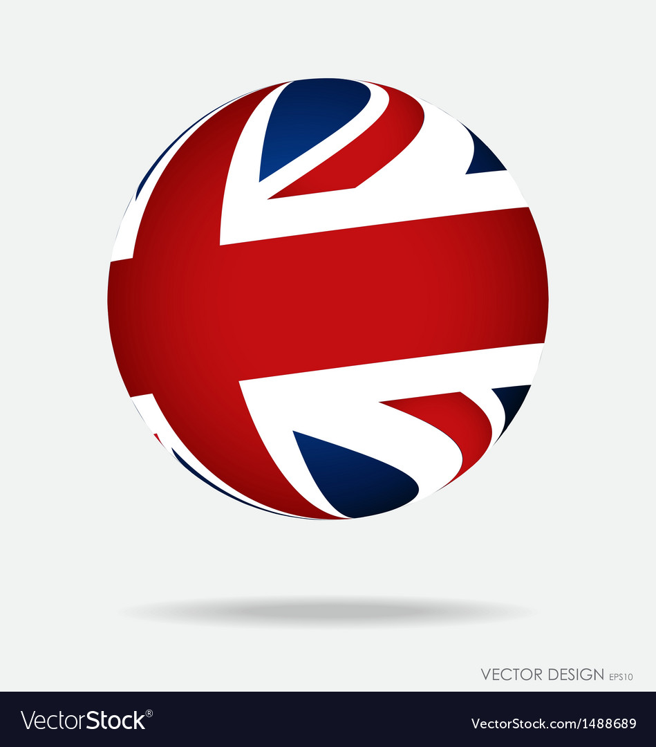 British flag vector | Price: 1 Credit (USD $1)