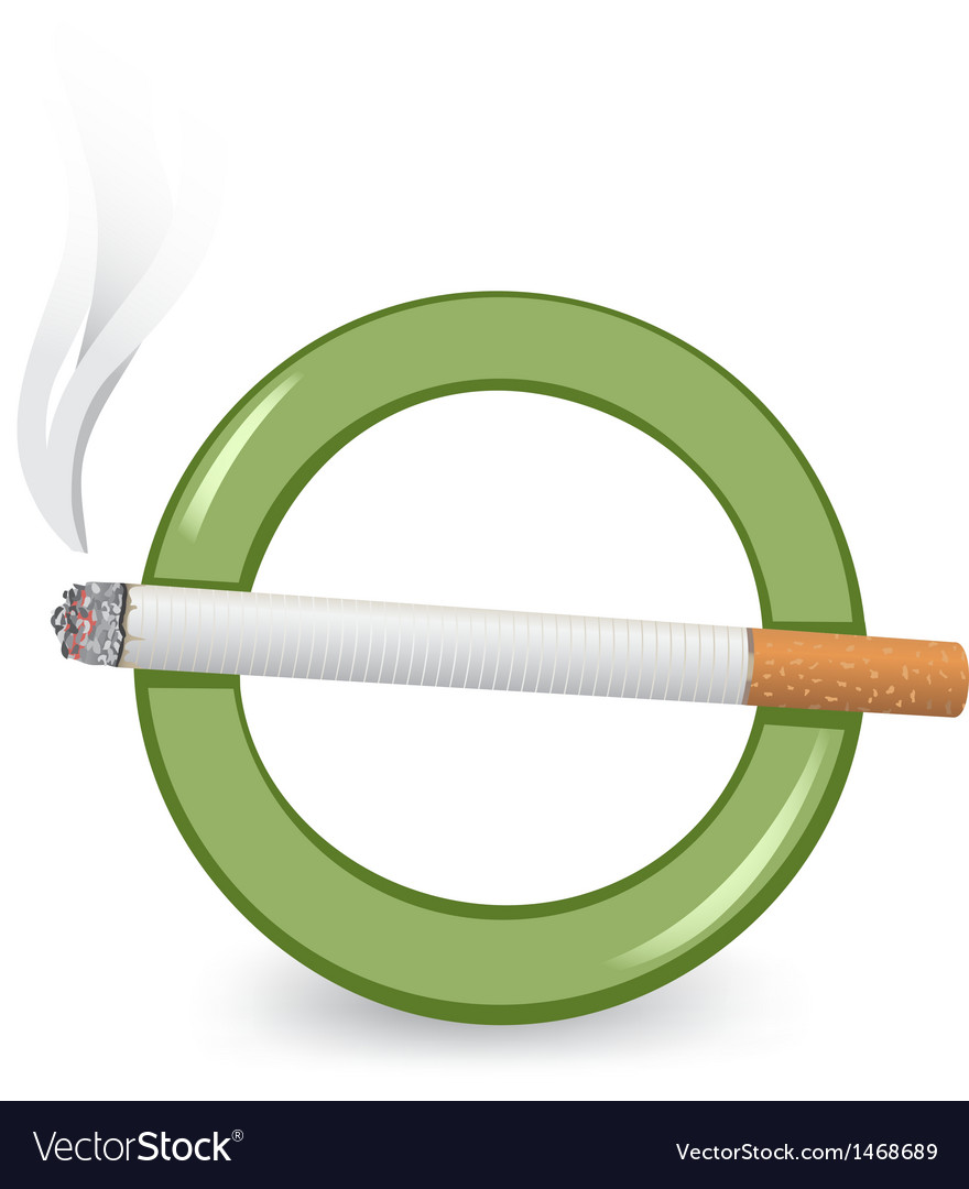 Smoking area vector | Price: 1 Credit (USD $1)