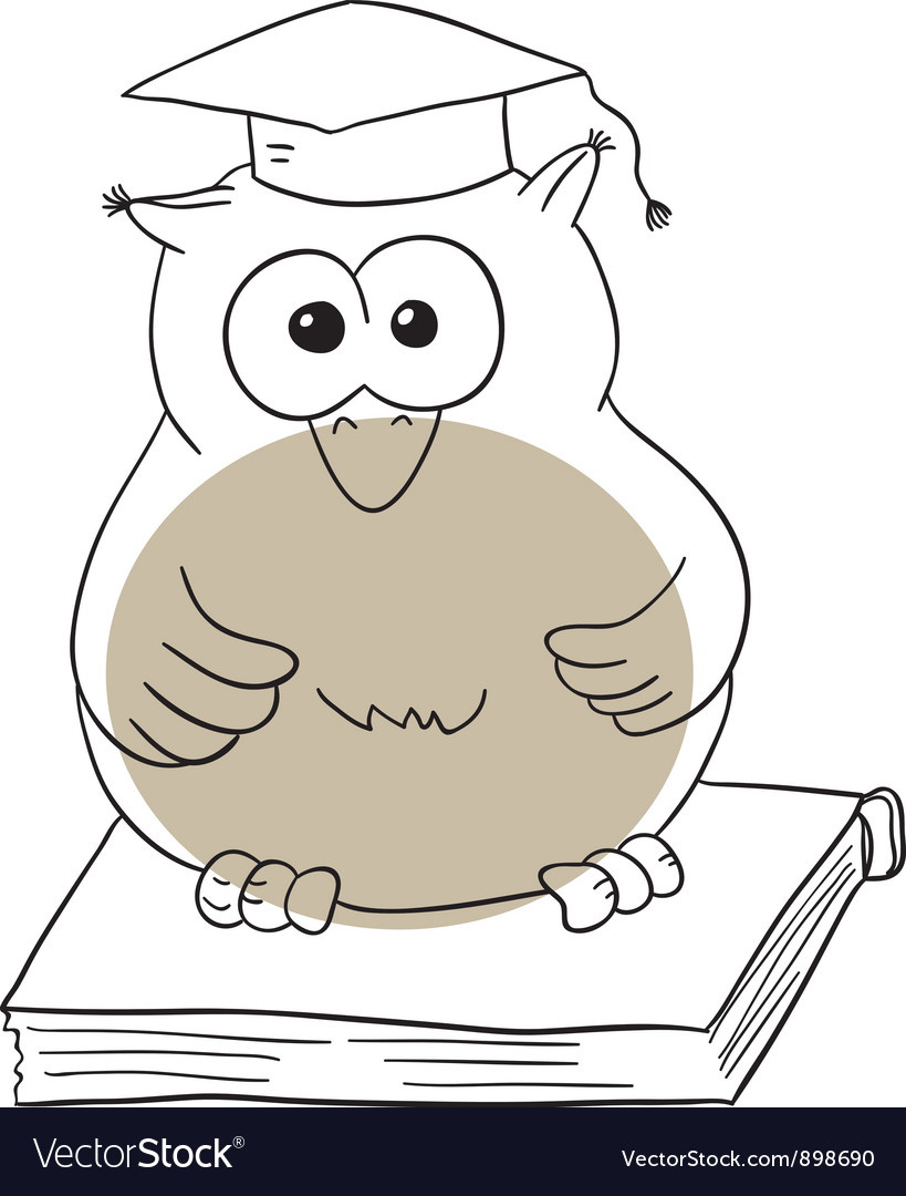 The owl vector | Price: 1 Credit (USD $1)