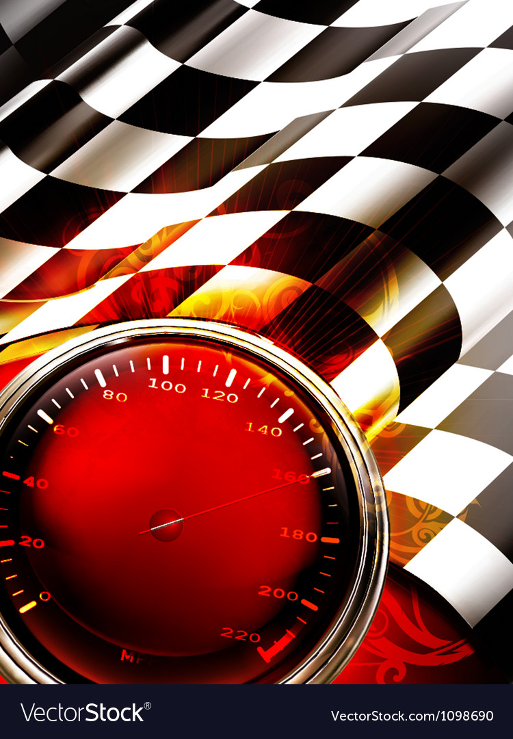 Racing background vertical vector | Price: 1 Credit (USD $1)