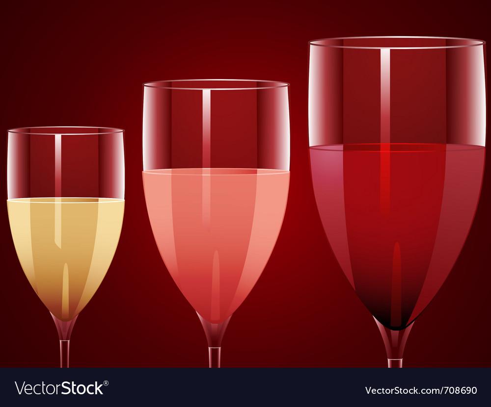 Wine glasses vector | Price: 3 Credit (USD $3)
