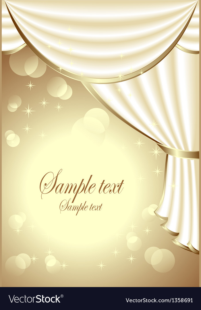 Background with light drapes vector   Price: 3 Credit (USD $3)