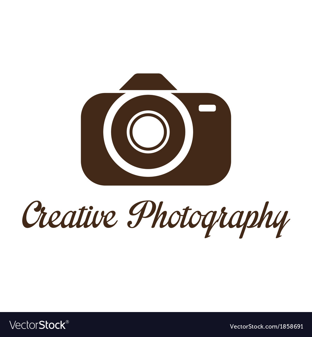 Photographer studio logo template vector | Price: 1 Credit (USD $1)