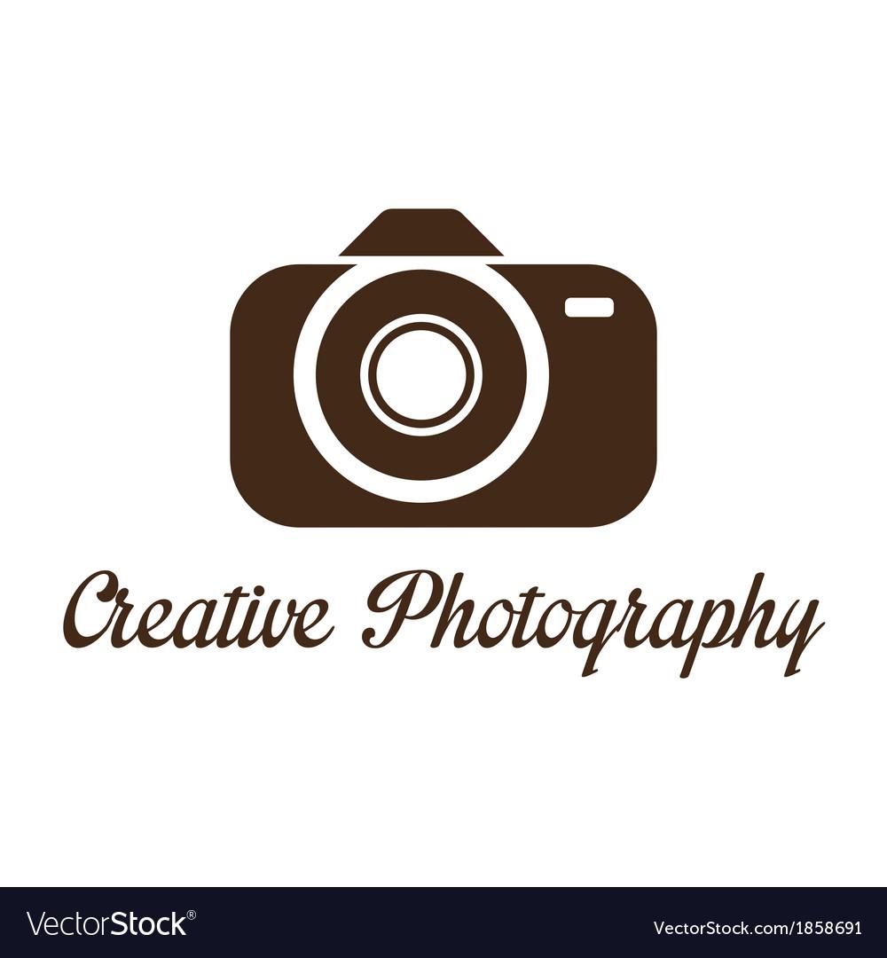 Photographer studio logo template vector | Price: 1 Credit (USD $1)