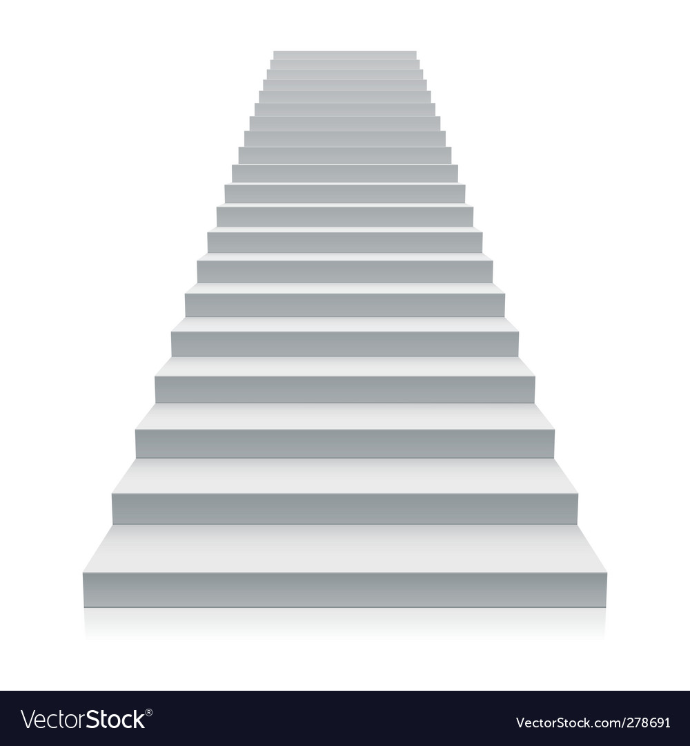 Staircase vector | Price: 1 Credit (USD $1)