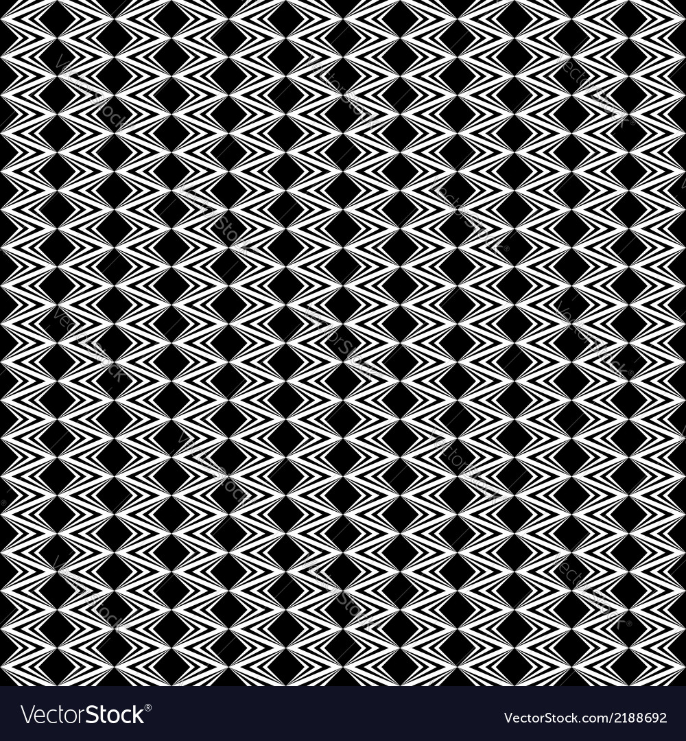 Design seamless diamond geometric zigzag pattern vector | Price: 1 Credit (USD $1)