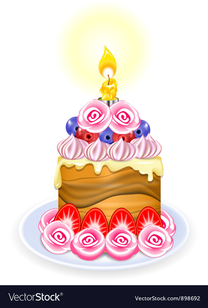 Mini cake vector | Price: 1 Credit (USD $1)