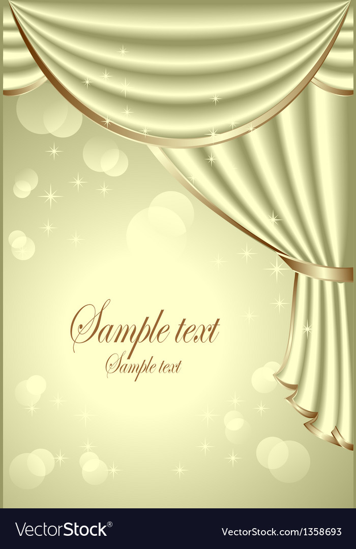 Background with light olive drapes vector | Price: 3 Credit (USD $3)