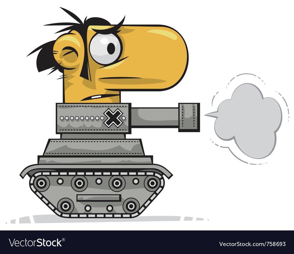Tank man vector | Price: 3 Credit (USD $3)