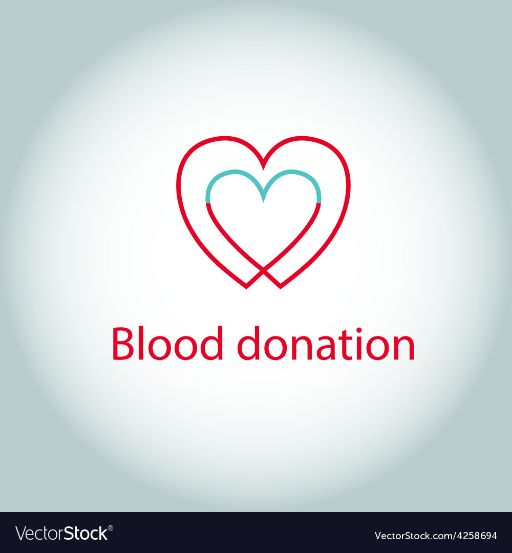 Blood donation vector | Price: 1 Credit (USD $1)