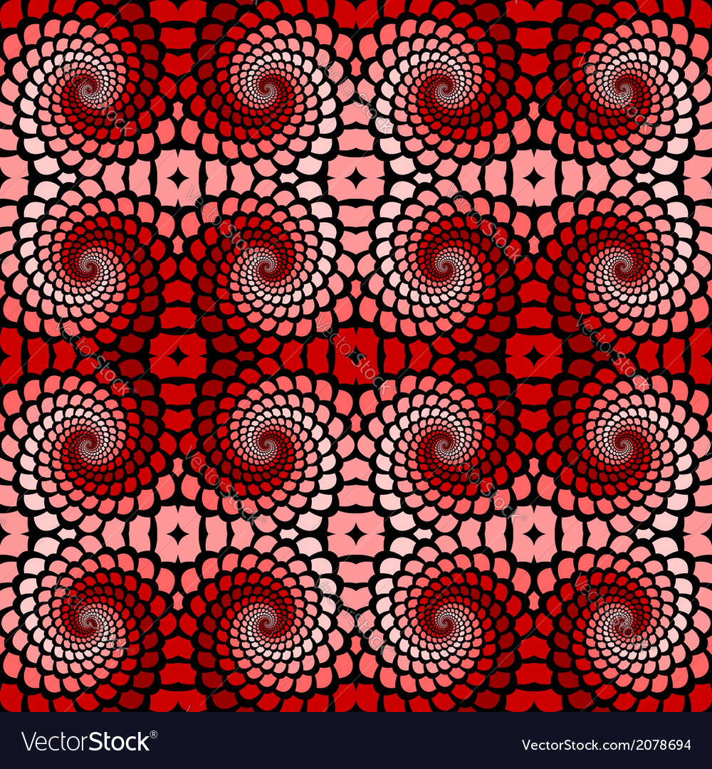 Design seamless colorful twirl movement pattern vector | Price: 1 Credit (USD $1)