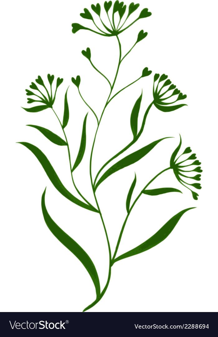 Floral decorative ornament vector | Price: 1 Credit (USD $1)