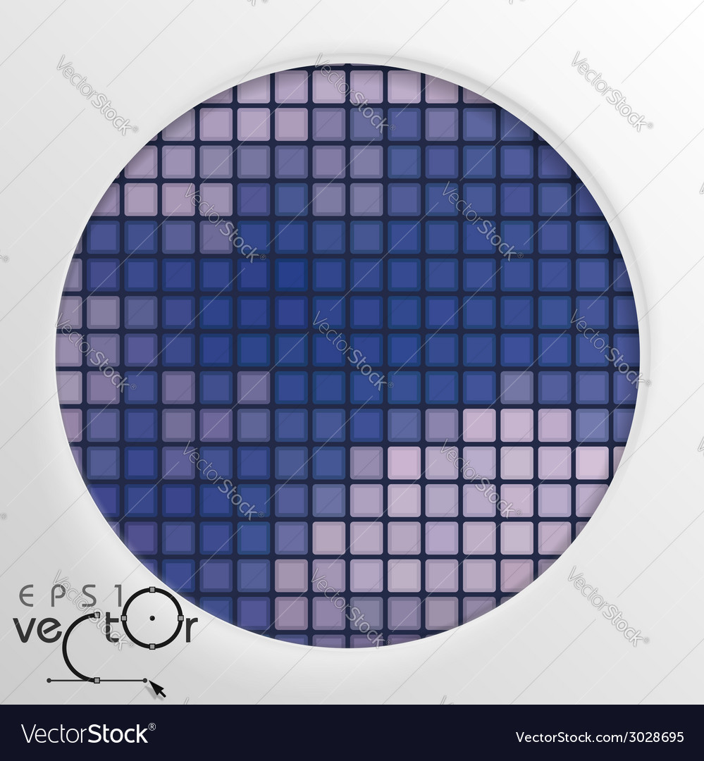 Abstract round shape with frame vector   Price: 1 Credit (USD $1)