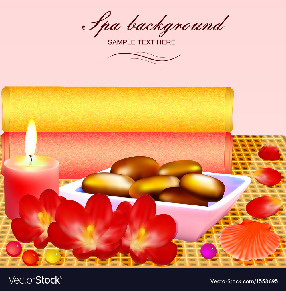 Background for spa vector | Price: 1 Credit (USD $1)
