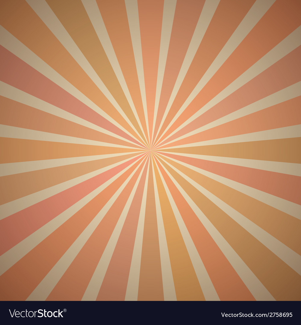 Fanning rays abstract geometric background with vector | Price: 1 Credit (USD $1)