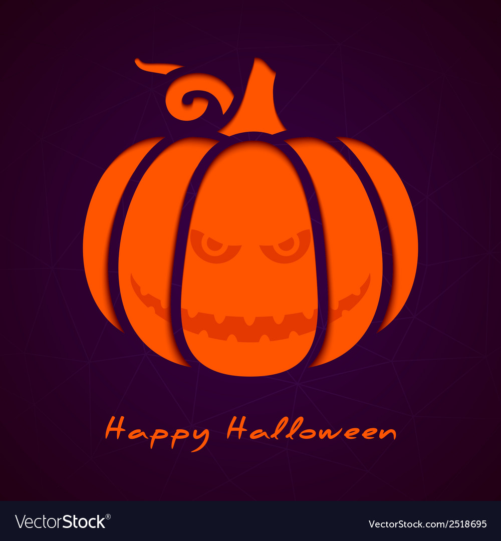 Halloween greeting card eps10 vector | Price: 1 Credit (USD $1)