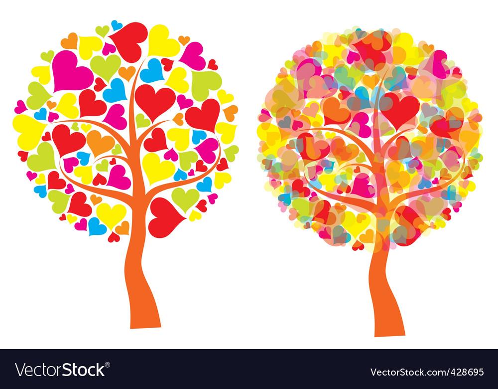 Ines tree background vector vector | Price: 1 Credit (USD $1)