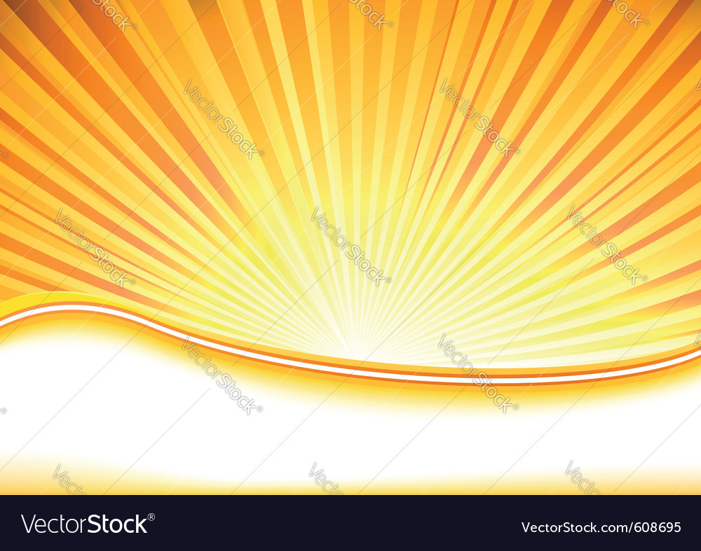 Summer banner full of shine vector | Price: 1 Credit (USD $1)
