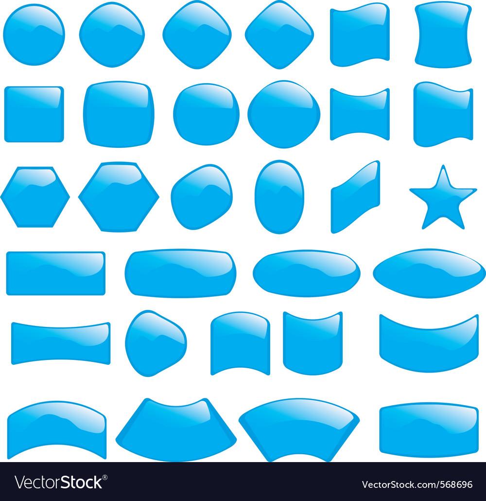 Bubble icons symbols vector | Price: 1 Credit (USD $1)