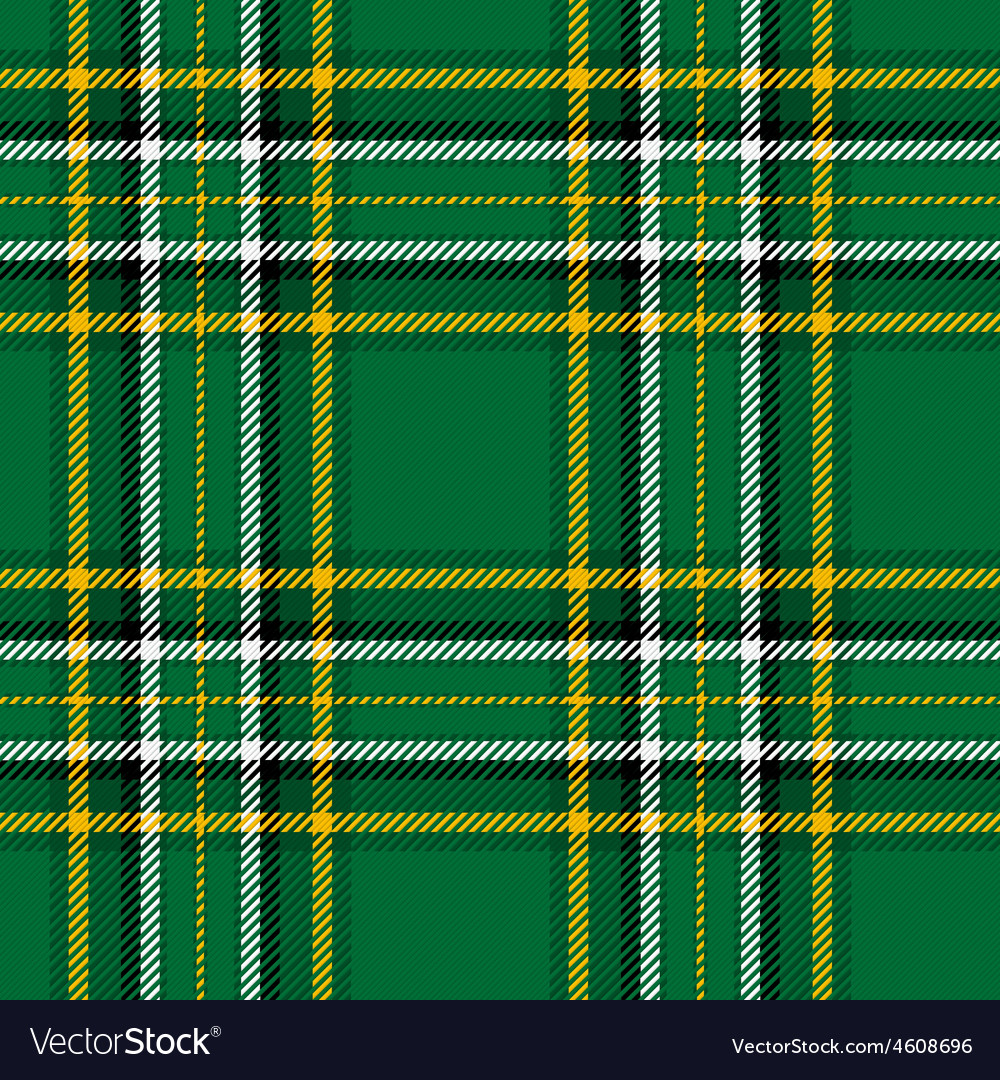 Irish national tartan vector | Price: 1 Credit (USD $1)