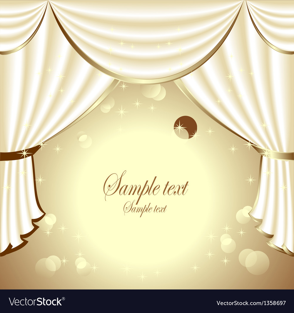 Background with light drapes vector | Price: 3 Credit (USD $3)