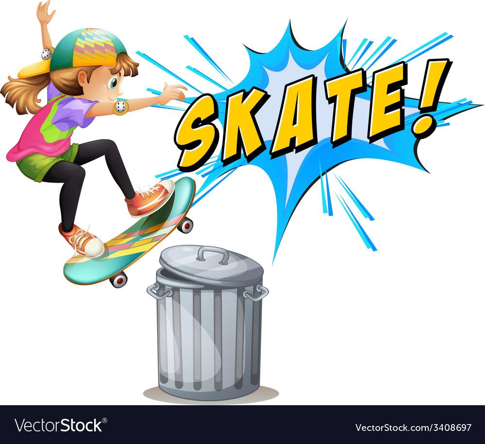 Skating vector | Price: 1 Credit (USD $1)