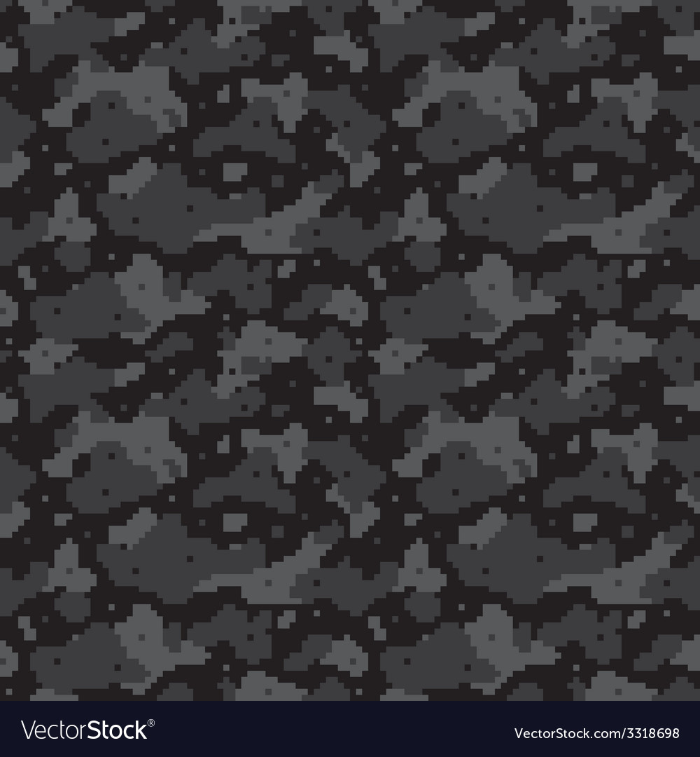 Pixel camo black vector | Price: 1 Credit (USD $1)