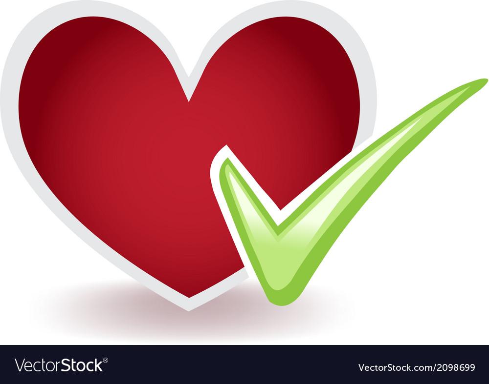 Healthy heart vector | Price: 1 Credit (USD $1)