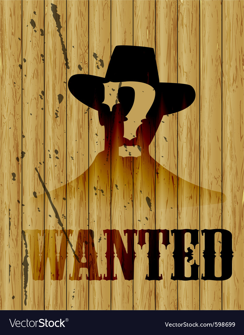 Wanted poster vector | Price: 1 Credit (USD $1)