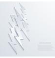 Modern lightning background vector