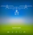 Contour ad layout for quadrocopter vector